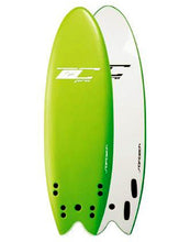 "Load image into Gallery viewer, Softech TC Quad Pro 5'4"" soft surfboard"