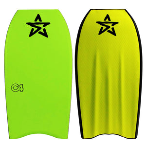 Stealth concave bodyboards