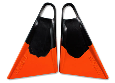 Stealth 2 Black / Orange fins
