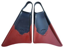 Load image into Gallery viewer, Supers Fins Black / Burgundy