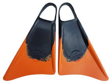 Load image into Gallery viewer, Supers Fins Black / Orange