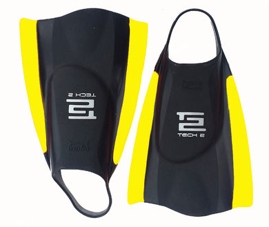 Hydro tech 2 fins Black Yellow