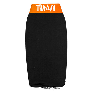 Thrash Stretch Bodyboard Sock Black Orange