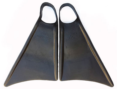 Rocket bodyboard fins black