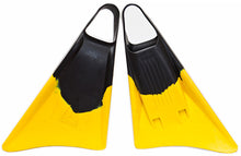 Load image into Gallery viewer, Freedom Bodyboarding fins - Blk/Yell