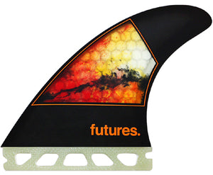 Futures Jordy Smith surfboard fins - Medium