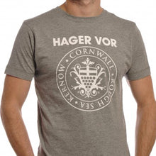 Load image into Gallery viewer, Hager Vor crest tee shirt