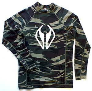 NMD long sleeve rash vest - Camo