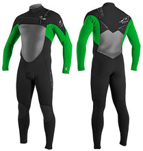 Load image into Gallery viewer, O'neill Superfreak FZ 3/2 wetsuit  - Blk/Grn