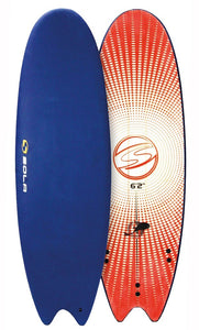 "Sola 5' 8"" Fish Soft surfboard"