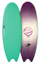 "Load image into Gallery viewer, Sola 5' 8"" Fish Soft surfboard"