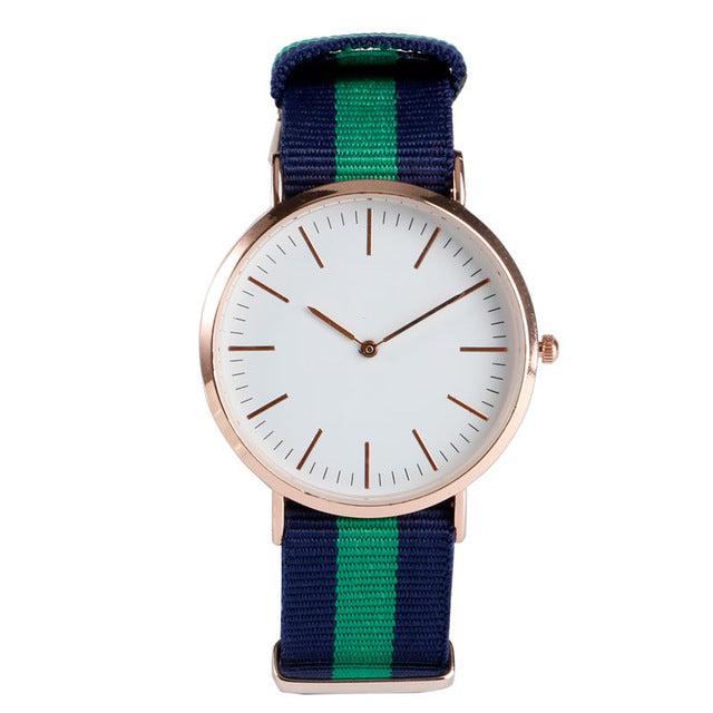 The Capri - Navy/Green