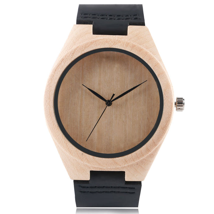 Bamboo Watch - Natural