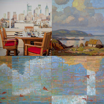 DAWN TO DUSK: New Works by John C. Traynor & Ned Martin