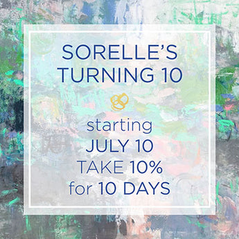 Sorelle is Turning 10 Years Old!