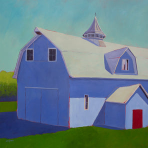 Blueberry Barn - Print