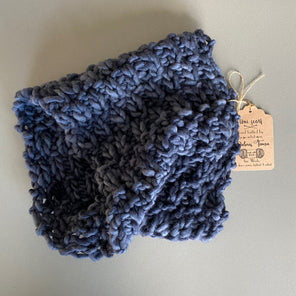 """Midnight Blue"" Toni Snood Scarf"