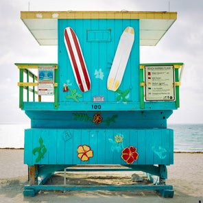Miami Lifeguard Stand - 100