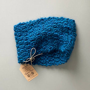 """Prussian Blue"" Toni Snood Scarf"