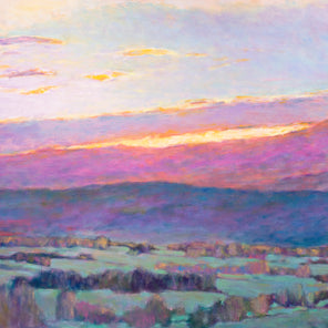 Sun Behind the Foothills - Limited Edition Print