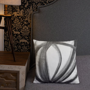 """Tulip Cell"" Premium Abstract Pillow"