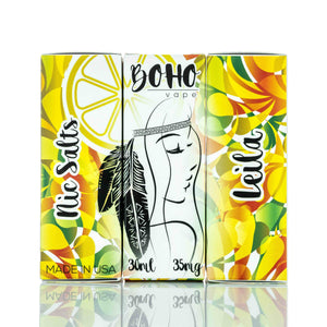 Boho Vape Nic Salt - Leila - 30ml