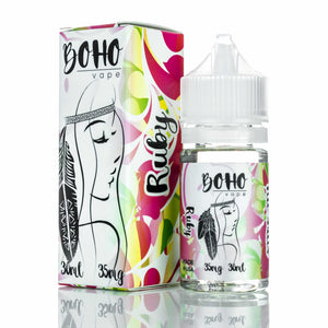 Boho Vape Nic Salt - Ruby - 30ml