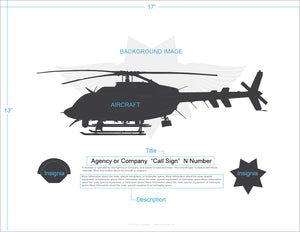 Customized Aircraft Art Prints
