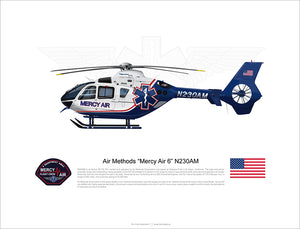 Air Methods 'Mercy Air 6' Airbus EC135 N230AM