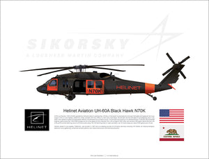 Helinet Aviation UH-60A Black Hawk N70K