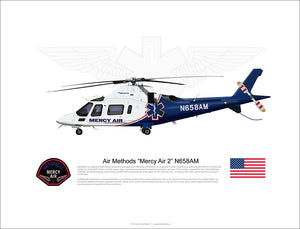 "Air Methods Agusta A109E ""Mercy Air 2"" N658AM"