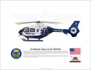Air Methods 'Mercy Air 34' Airbus EC135 N579AM