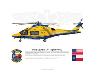 TRAVIS COUNTY AW169 STARFLIGHT N307TC - Static