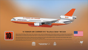 "McDonnell Douglas DC-10 10 Tanker 910 ""Southern Belle"" N612AX -  LIMITED EDITION"