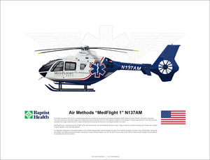 "Air Methods ""MedFlight 1"" N137AM AIRBUS EC135"