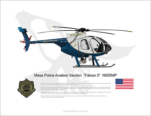 "Mesa Police MD500e ""Falcon 5"" N505MP"