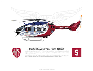 "Stanford University EC145 ""Life Flight"" N145SU"