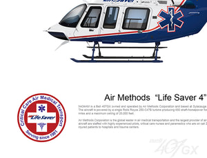 "Air Methods  ""Life Saver 4""  N434AM - Bell 407GX"