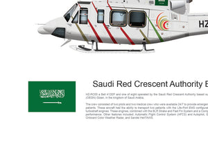 Saudi Red Crescent Authority Bell 412 HZ-RC05
