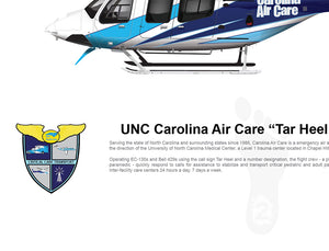 "UNC Carolina Air Care Bell 429 ""Tar Heel 2"" N862NC"