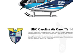 "UNC Carolina Air Care EC135 ""Tar Heel 3"" N863NC"