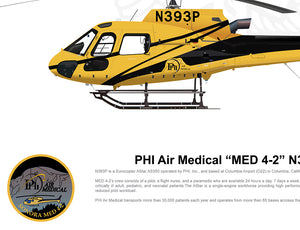 "PHI Air Medical Airbus AS350 ""MED 4-1"" N384PH"