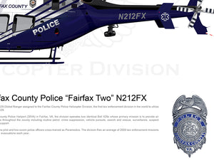 "Fairfax County Police Bell 429 ""Fairfax Two"" N212FX"