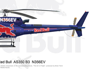 Red Bull Airbus AS350 B3 N356EV