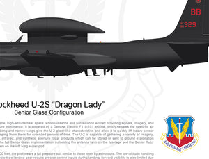 "Lockheed U-2 ""Dragon Lady"" Senior Glass Configuration"