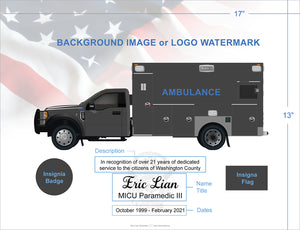 Custom Ambulance Art Prints