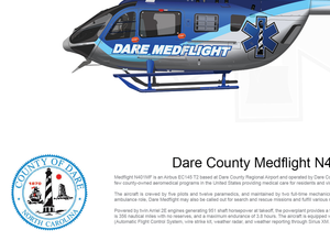 Dare County MedFlight Airbus EC145 T2 N401MF