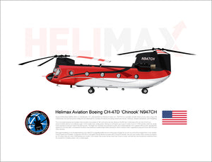 Helimax Aviation Boeing CH-47D 'Chinook' N947CH - STATIC