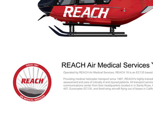 "REACH Air Medical Services Airbus EC135 ""REACH 18"" N314RX"