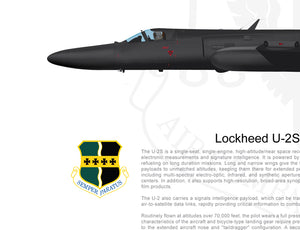"Lockheed U-2 ""Dragon Lady"" Super Pods Configuration"